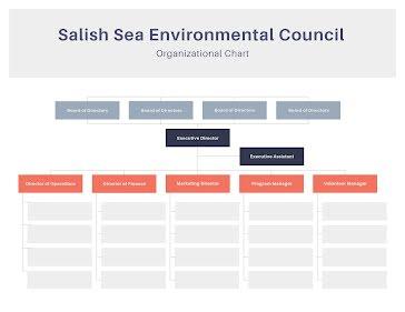 Council Org Chart - Flow Chart Template