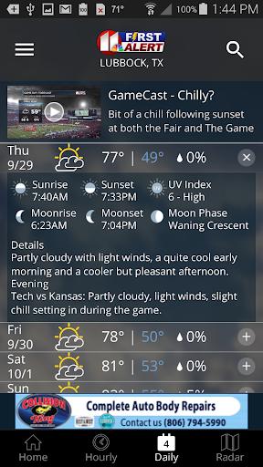 KCBD First Alert Weather  screenshots 3
