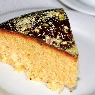 Pineapple Marzipan Cake.