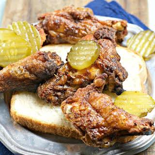 Nashville Hot Chicken Wings.