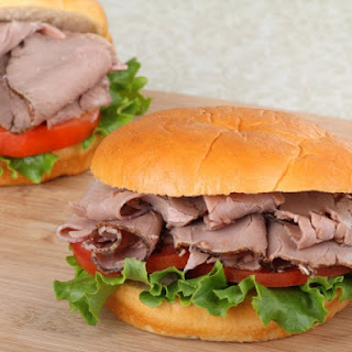 Better Than Arby's Roast Beef Sandwiches.