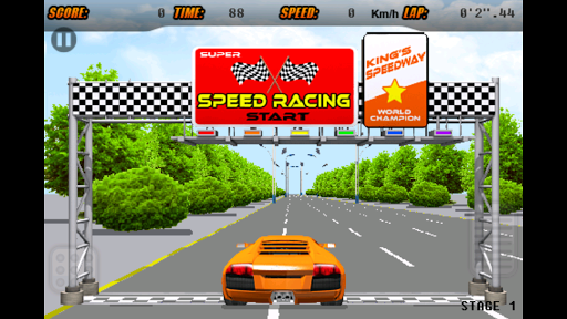 3D Racing -- Sensor Game