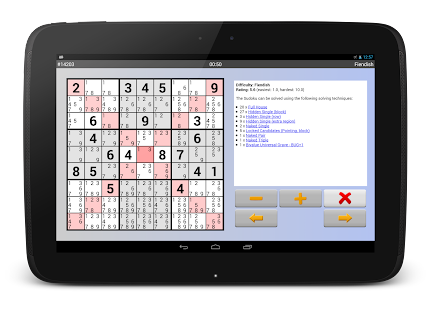 Sudoku 10'000 Free- screenshot thumbnail