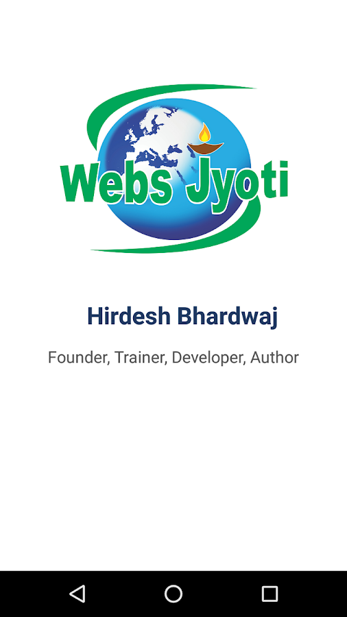 Hirdesh Bhardwaj - Webs Jyoti- screenshot