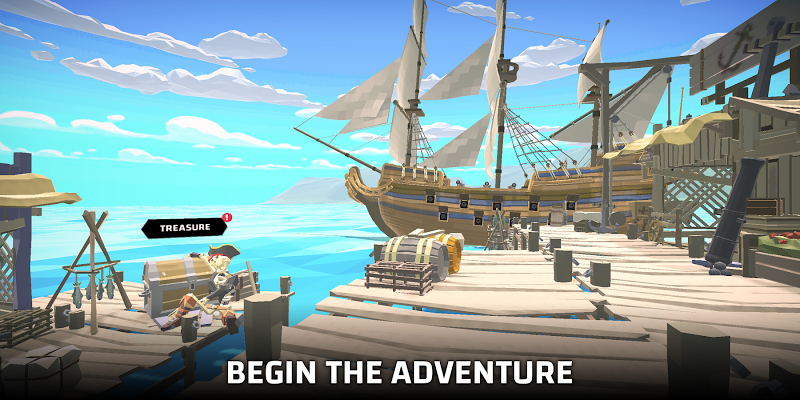 Pirate world Ocean break Screenshot Image
