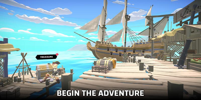 Pirate world Ocean break Screenshot 0