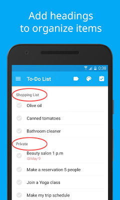 LIST - To-Do List | Task List - screenshot