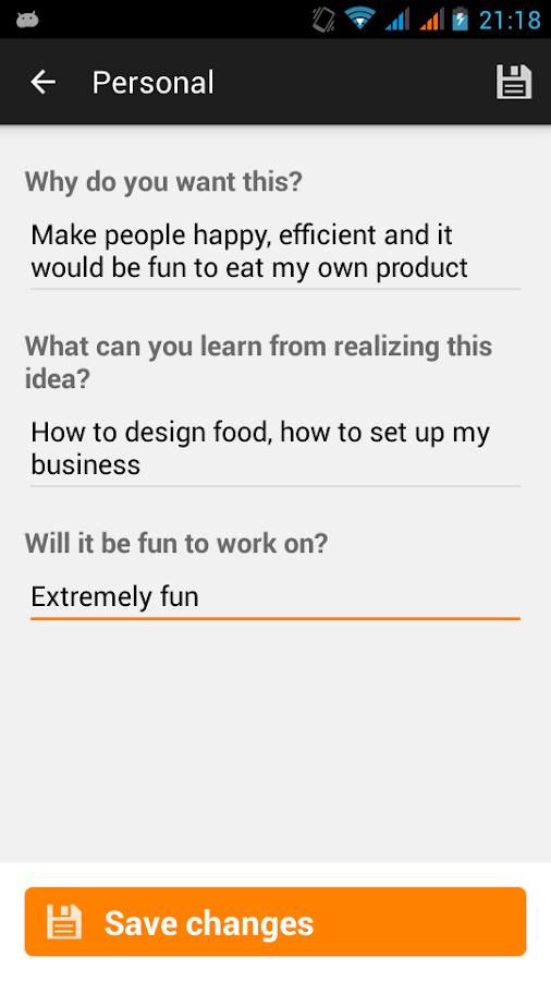 Idea Growr- screenshot
