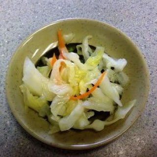 Mellow Sweet Pickled Cabbage.