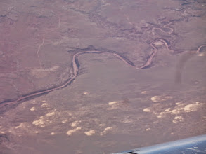 Photo: River deep in canyon.