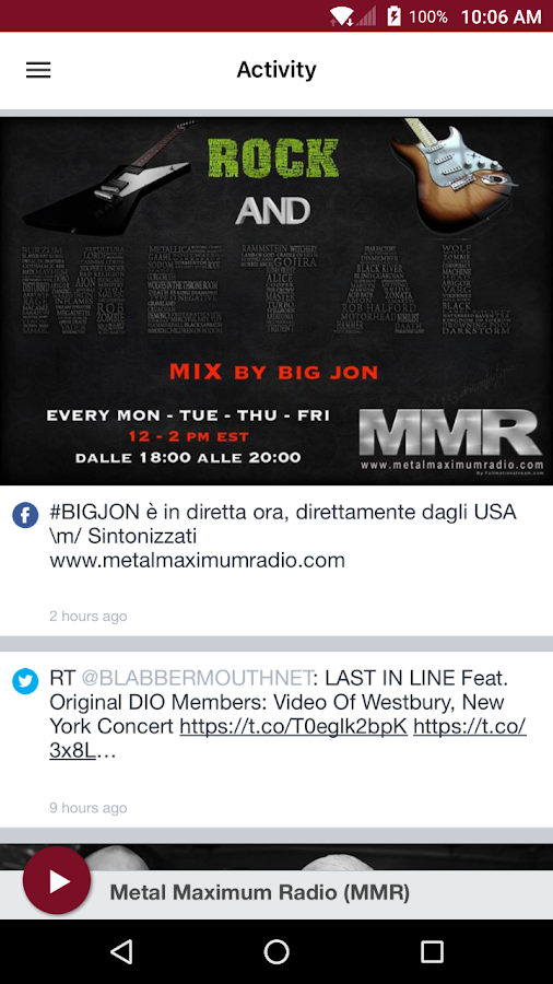 Metal Maximum Radio (MMR)- screenshot