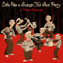 "Photo: CD design of "" Little Fats & Swingin' Hot Shot Party"" 2014"