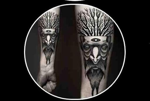 纹身男性理念