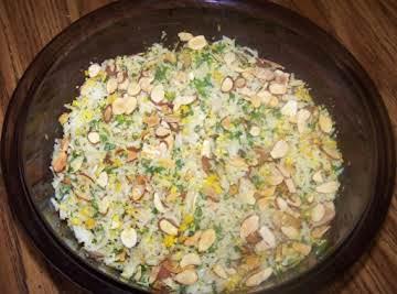 Rice Salad With a Citrus Vinaigrette