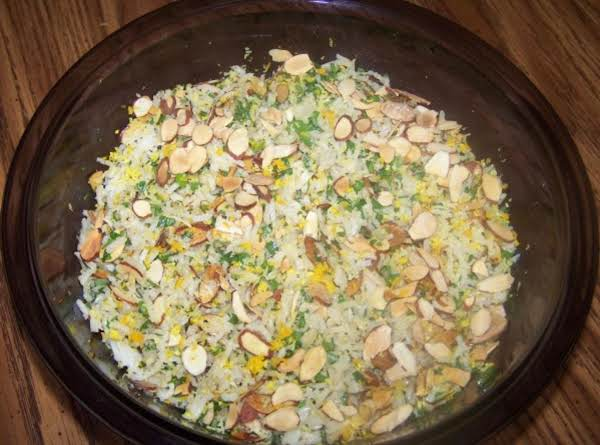 Rice Salad With A Citrus Vinaigrette