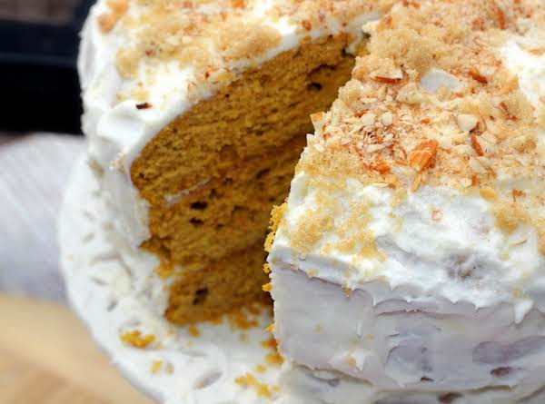 Pumpkin Cake With Maple Buttercream Recipe