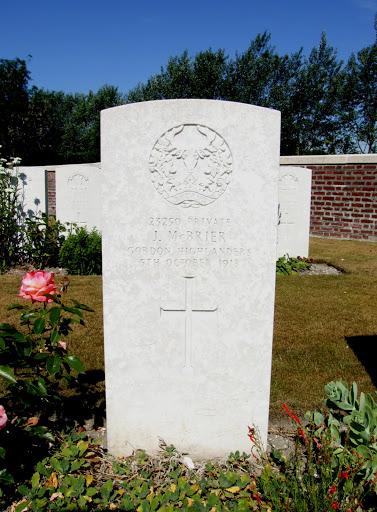 James McBrier grave
