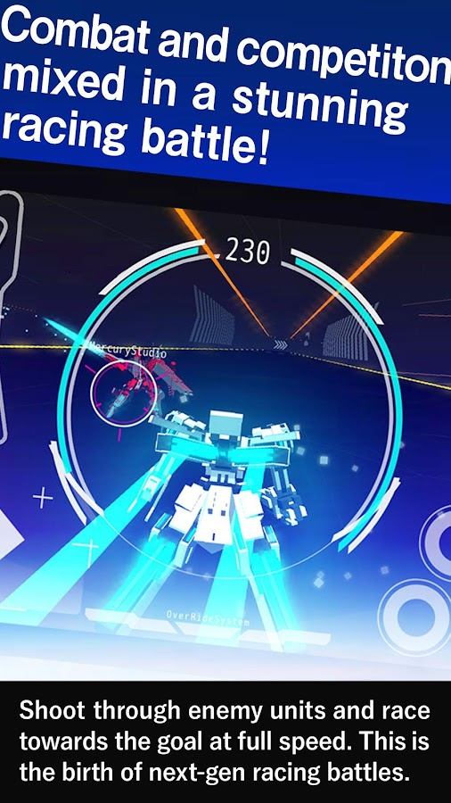 BREAKARTS: Cyber Battle Racing- screenshot