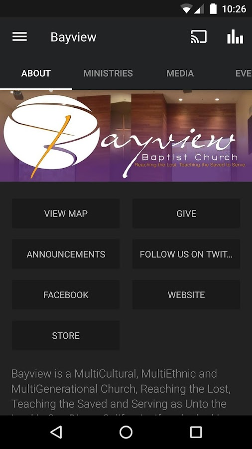 Bayview Church- screenshot