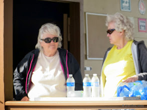 Photo: Mary Lou Pasley and Letha Grace McCoy     HALS Chili Fest Meet 2014-0228 RPW