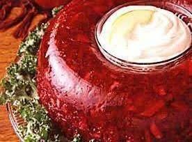 Cranberry Pineapple Gelatin Mold