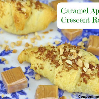 Caramel Apple Crescent Rolls.