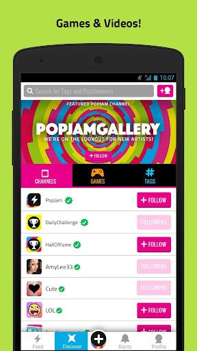 PopJam screenshot 2