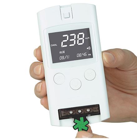 LUX Monitor för Lipidstatus Glukos Hemaglobin