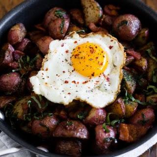 Basil Bacon Hash