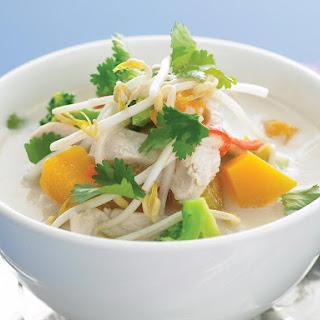 Vietnamese Coconut Chicken Soup.