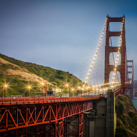 Bridge Golden Gate by IP Maesstro - Buildings & Architecture Bridges & Suspended Structures ( america, golden gate, bridge, san francisco, usa )