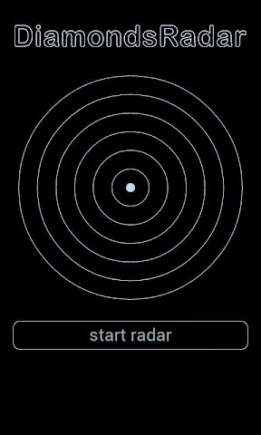 android Diamond Radar Simulation Screenshot 6