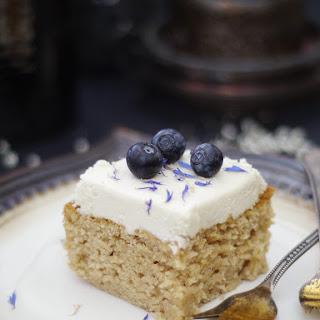 Classic Cashew Vanilla Birthday Cake