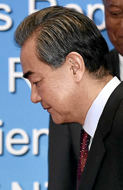 Chinese Foreign Minister Wang Yi. Picture: REUTERS