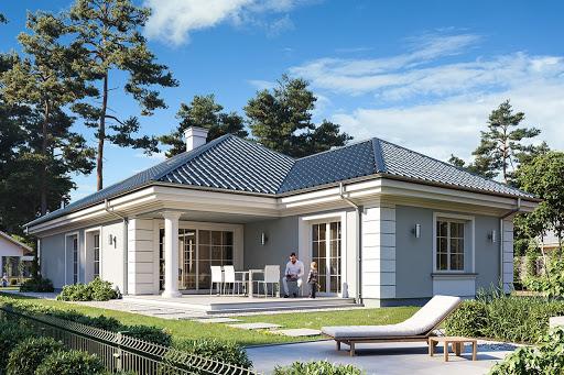 projekt Dom na parkowej 7 A