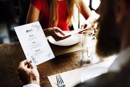Onze menu's