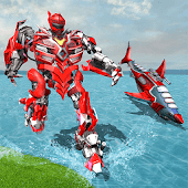 Real Robot Shark Game - Transforming Shark Robot