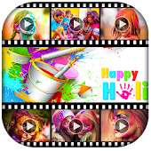 Happy Holi Video Maker