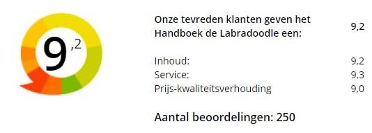 Beoordeling tevreden klanten Handboek de Labradoodle