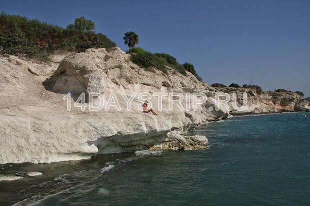 кипр, пляж, побережье