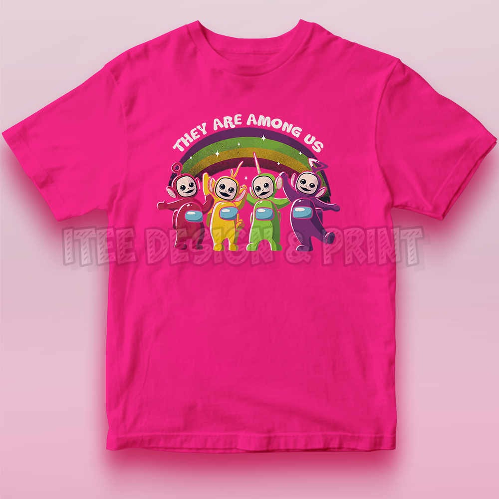 They Are Among Us Funny Teletubbies Game Impostor 11