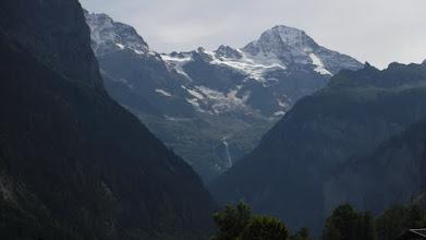 Photo: Jungfrau közelebbről
