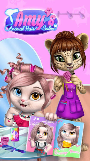 Amy's Animal Hair Salon - Fluffy Cats Makeovers 2.0.17 {cheat|hack|gameplay|apk mod|resources generator} 3