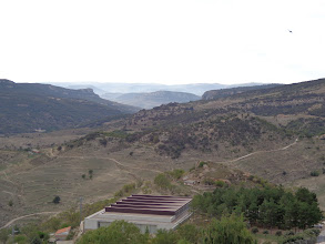 Photo: View west from Morella's old franciscan convent