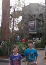 Photo: In front of Star Tours