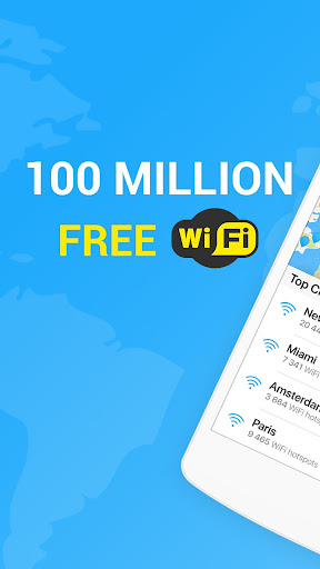 WiFi Map — Free Passwords & Hotspots Screenshot
