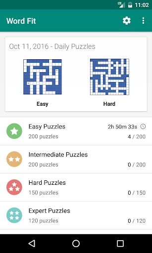 Fill-In Crosswords 3.06 Mod screenshots 3