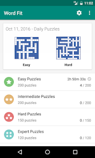 Fill-In Crosswords (Word Fit)- screenshot thumbnail