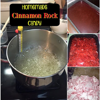 Easy Cinnamon Rock Candy