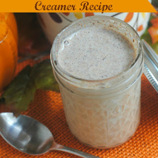 Pumpkin Spice Coffee Creamer.